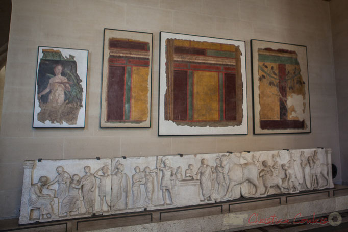 Art romain, Epoque Julio-claudienne I, Musée du Louvre