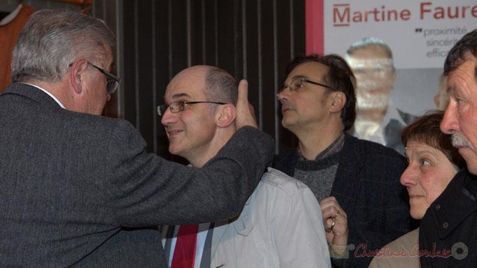 Avec une pensée profonde pour Jean-Pierre Soubie, Conseiller général sortant souffrant