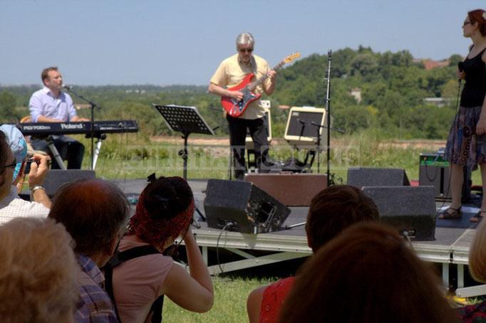 """""""Un temps merveilleux pour réaliser des photos..."""" Festival JAZZ360 2014, Mil&Zim Jazz, château Lestange, Quinsac. 08/06/2014"""
