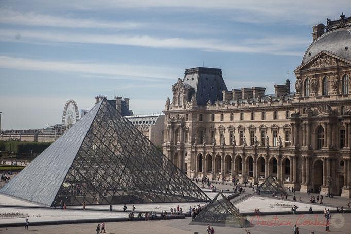 Pyramide de Ieoh Ming Peiet, Aile Richelieu, Musée du Louvre