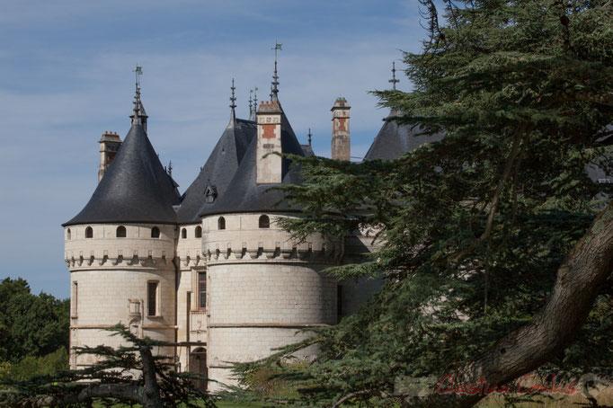 Le Château féodal, Domaine de Chaumont-sur-Loire, Loir-et-Cher, Région Centre-Val-de-Loire