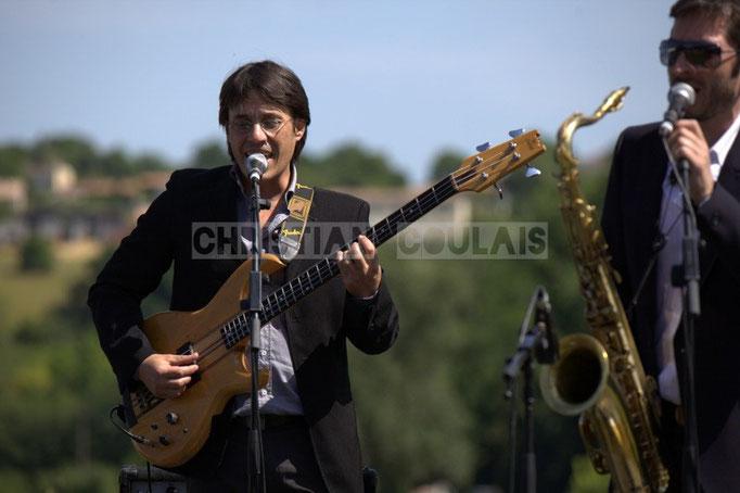 Benjamin Pellier, François-Marie Moreau; Akoda Quintet, Festival JAZZ360 2014, Quinsac. 08/06/2014