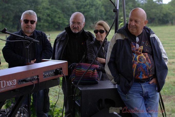 Festival JAZZ360 2015, au plus près de la création, Château Lestange, Quinsac. 14/06/2015