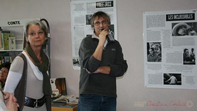 Richard Raducanu, élu à l'initiative du Festival JAZZ360 2010, Cénac. Vendredi 14 mai 2010