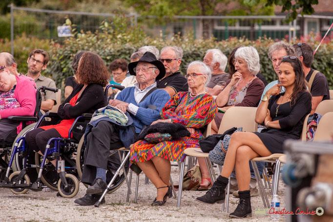 Un public éclectique venu à la séance du Docteur Nietzsche Quartet. Festival JAZZ360 2018, Cénac. 08/06/2018