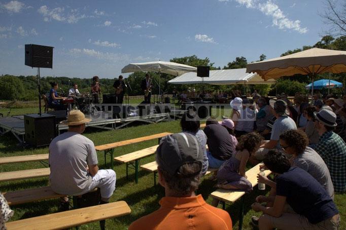 Festival JAZZ360 2014, Akoda au Château Lestange, Quinsac. 08/06/2014