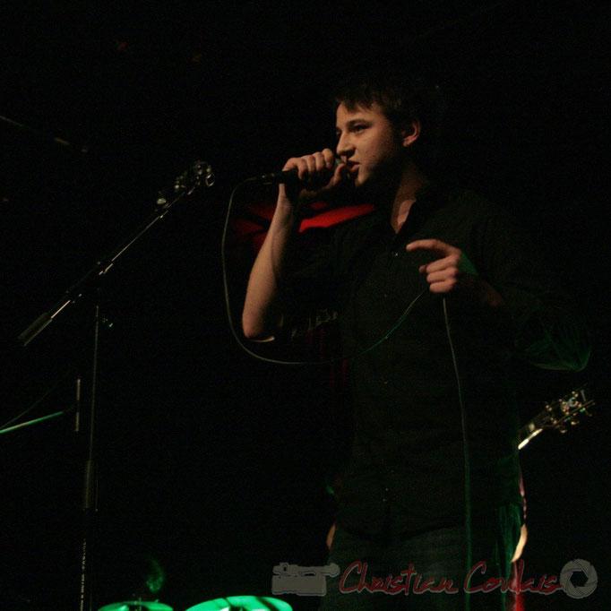 Hugo Raducanu, chanteur, InnVivo, Scènes croisées, Cénac, Gironde