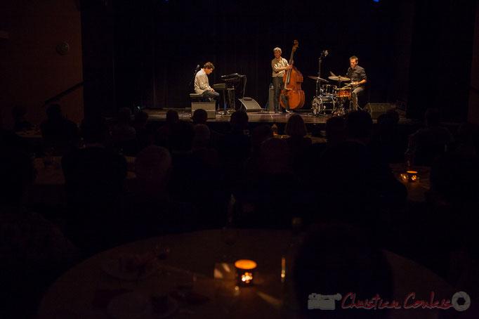 Serge Moulinier Trio, soirée cabaret JAZZ360, Cénac, Gironde