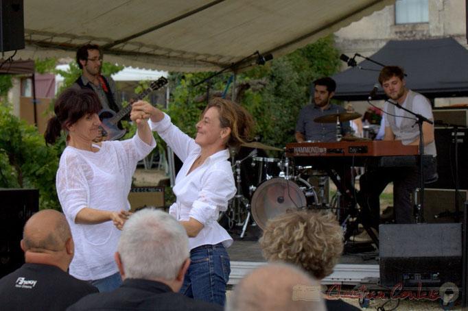 Festival JAZZ360 2015, Electric Boots délivre une musique chaloupante, Château Lestange, Quinsac. 14/06/2015
