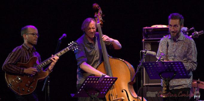 Festival JAZZ360 2015, Pierre Perchaud, Jean-Claude Oleksiak, Christophe Panzani; Jean-Claude Oleksiak Quartet, Cénac. 13/06/2015