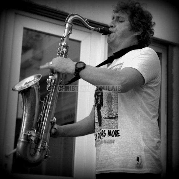 Fred Marconnet; Soundscape Trio, Festival JAZZ360 2014, Cénac. 07/06/2014