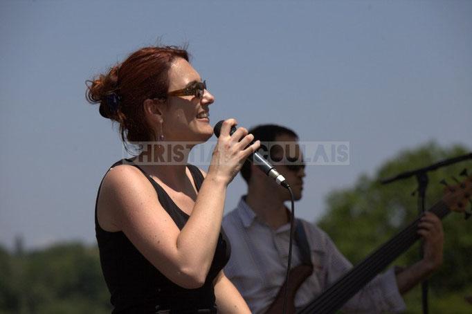Elodie Hurtaud; Mil&Zim Jazz, Festival JAZZ360 2014, Quinsac. 08/06/2014