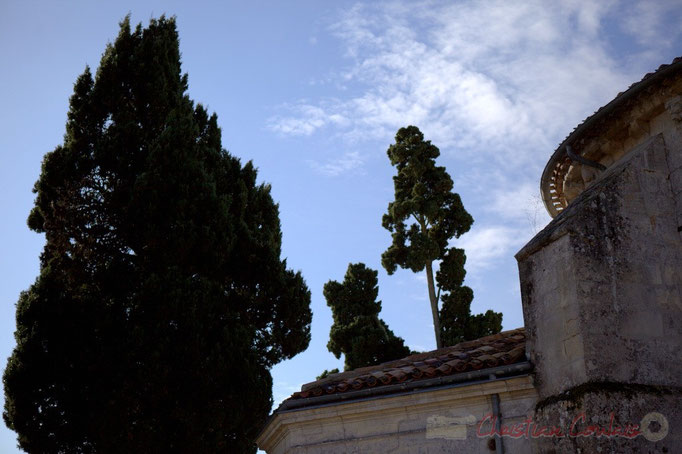 Eglise Saint-André et son cimetière, Cénac, Gironde