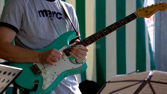 Festival JAZZ360 2014, guitare de Christophe Maroye; EBop Quartet, Cénac. 07/06/2014