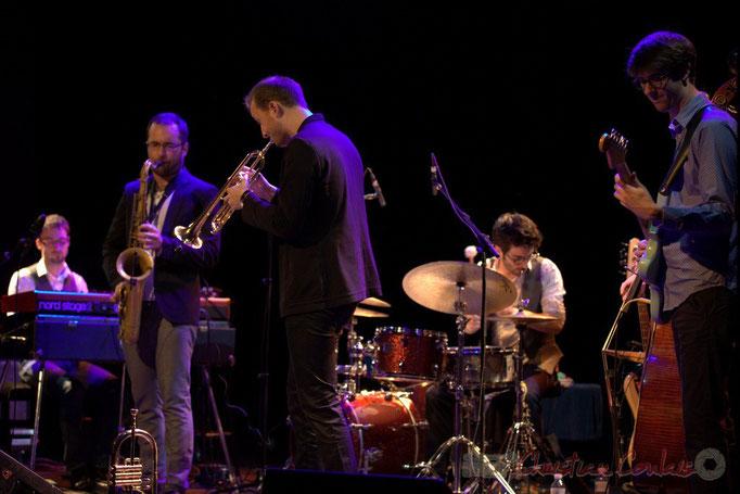 Julian Caetano, Régis Ferran, Guillaume Gardey de Soos, Thomas Doméné, Matthis Pascaud, les Métropolitains, Festival JAZZ360 2013