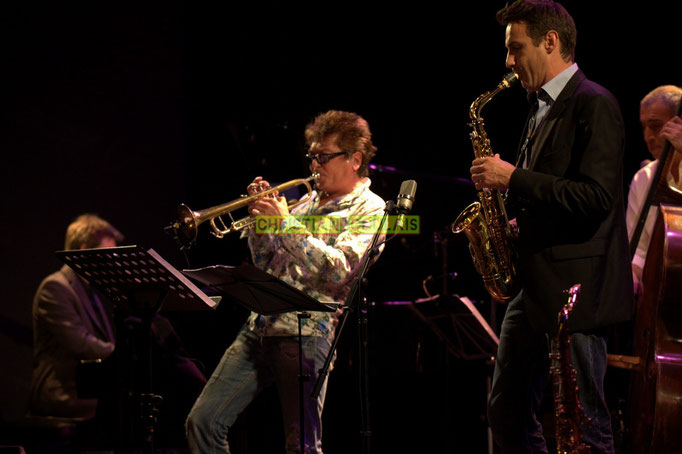 Festival JAZZ360 2014, Freddy Buzon, Thomas Lachaize, Iazid Ketfi; Asix Quintet, Cénac. 06/06/2014