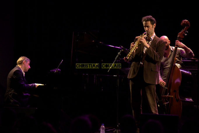 Festival JAZZ360 2014, Giovanni Mirabassi, Christophe Laborde, Mauro Gargano; Christophe Laborde Quartet. Cénac, 06/06/2014