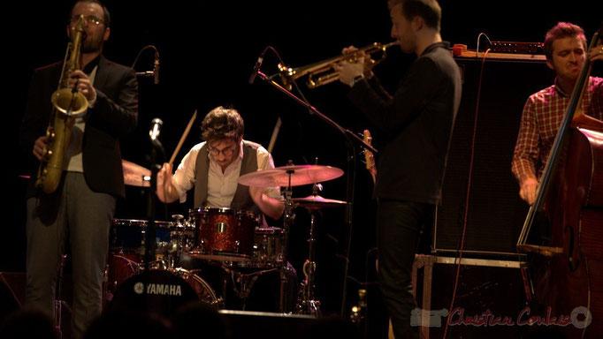 Régis Ferran, Thomas Doméné, Guillaume Gardey de Soos, Martin Jaussan, les Métropolitains, Festival JAZZ360 2013