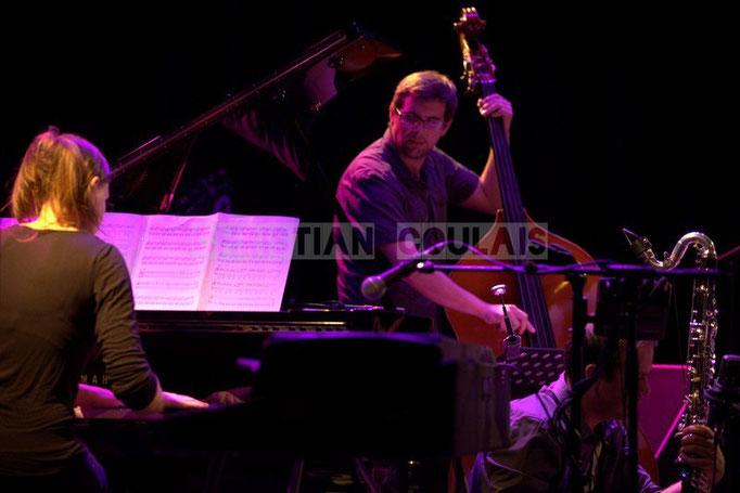 Festival JAZZ360 2014, Anne Quillier, Michel Molines; Anne Quillier Sextet, Cénac. 07/06/2014