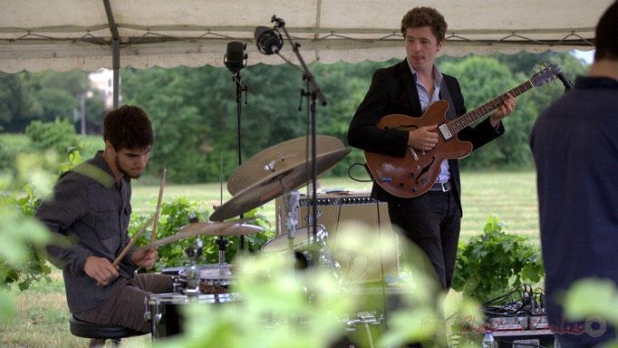 Festival JAZZ360 2015, Thomas Peyron, Thomas Boudé; Isotope Trio, Quinsac. 14/06/2015