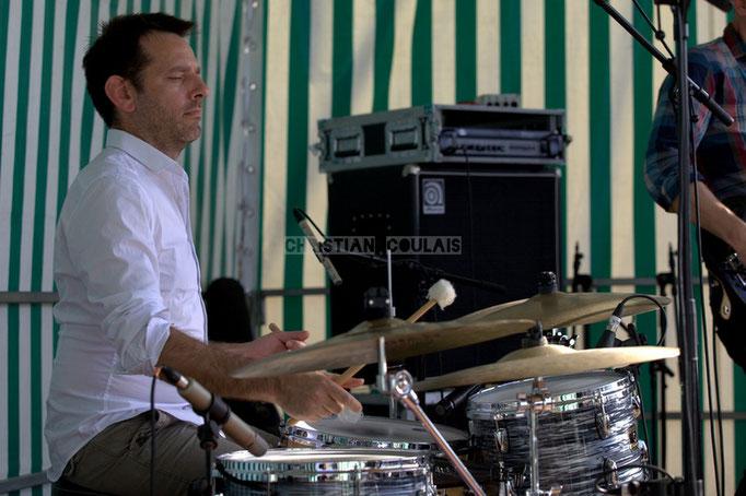 Festival JAZZ360 2014, Didier Ottaviani; EBop Quartet, Cénac. 07/06/2014