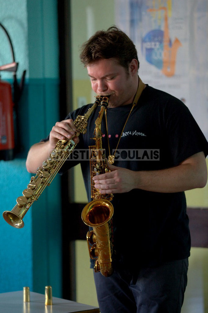 Festival JAZZ360, rencontre musicale avec Baptiste Herbin