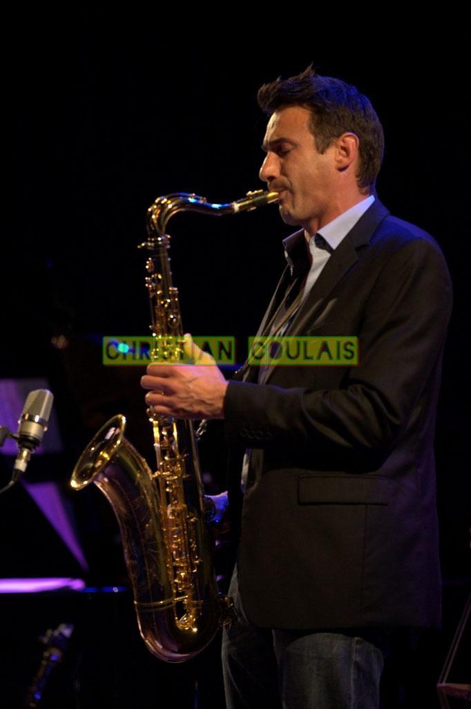 Festival JAZZ360 2014, Thomas Lachaize; Asix Quintet, Cénac. 06/06/2014
