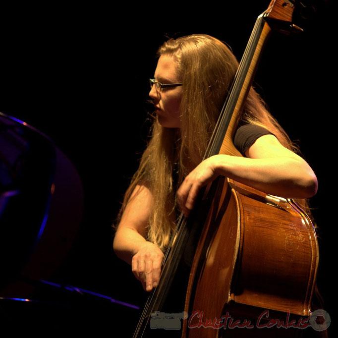 "Nolwenn Leizour; Frédéric Borey ""Lines"" Quartet, Festival JAZZ360 2012, Cénac. 08/06/2012"