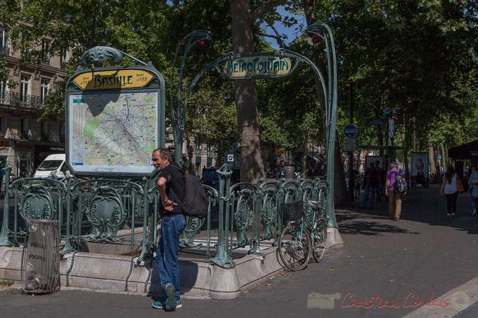 Métro Bastille, Paris 11ème arrondissement
