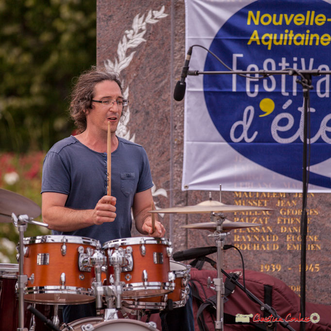 David Muris; Docteur Nietzsche Quartet. Festival JAZZ360 2018, Cénac. 08/06/2018