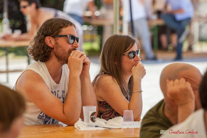 """""""Un public attentif, voire captivé !"""" Festival JAZZ360, Quinsac. 11/06/2017"""
