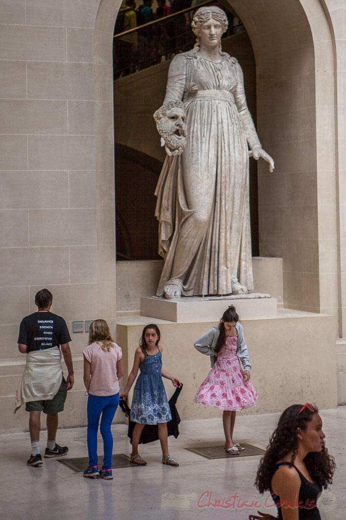 """""""Esprit de Maryline, es-tu là ?"""" Musée du Louvre"""