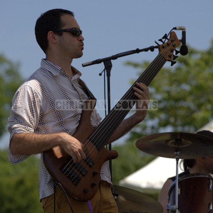 Julien Paoletti; Mil&Zim Jazz, Festival JAZZ360 2014, Quinsac. 08/06/2014