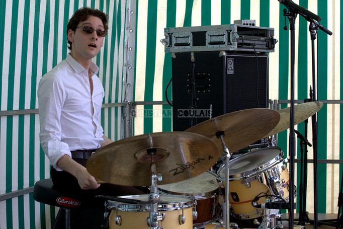 Festival JAZZ360 2014, Germain Cornet; Thomas Mayeras Trio, Cénac. 07/06/2014