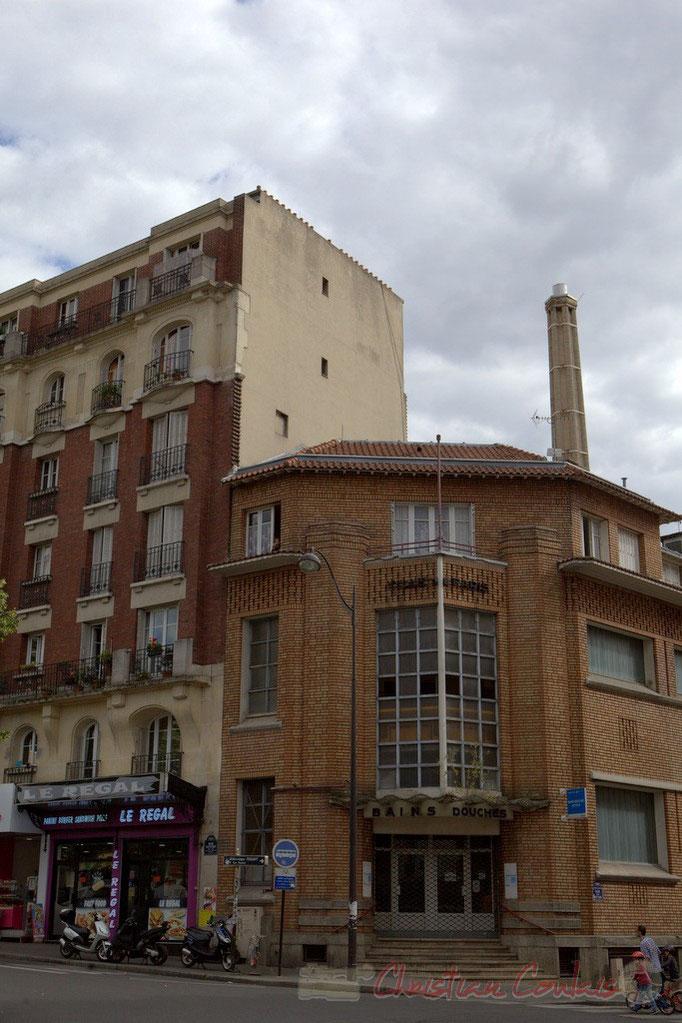 Bains Douches, Rue Petitot, Paris 19ème