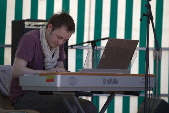 Festival JAZZ360 2014, Vincent Vilnet; Delbosque Band. Cénac, 07/06/2014