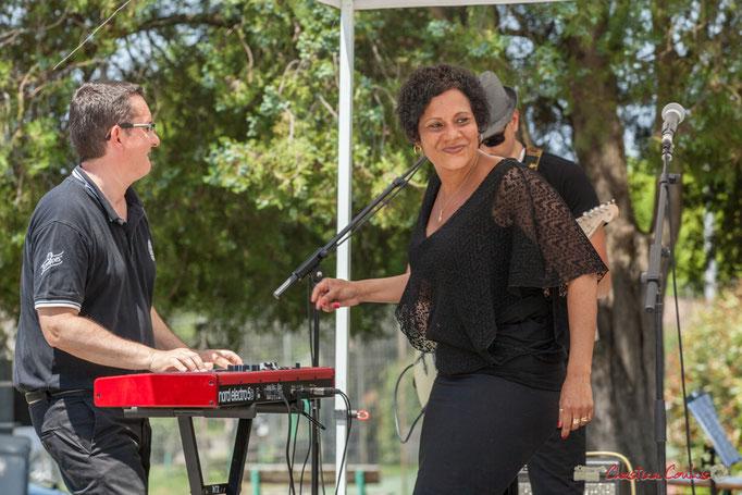 Jérôme Bonneau, Sly Marot, Stéphane Dallet; Soul Kitchen, Festival JAZZ360, Quinsac. 11/06/2017