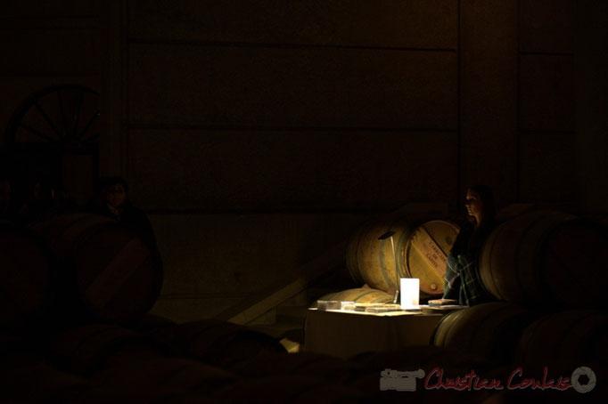 Thibaut Cauvin aux Estivales de musique en Médoc, Château Lafite Rothschild, Pauillac, 15 janvier 2015. Reproduction interdite - Tous droits réservés © Christian Coulais