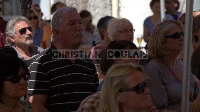 José Garcia, grand amateur de Jazz. Festival JAZZ360 2014, Cadijo vagabond blues project, Latresne. 08/06/2014