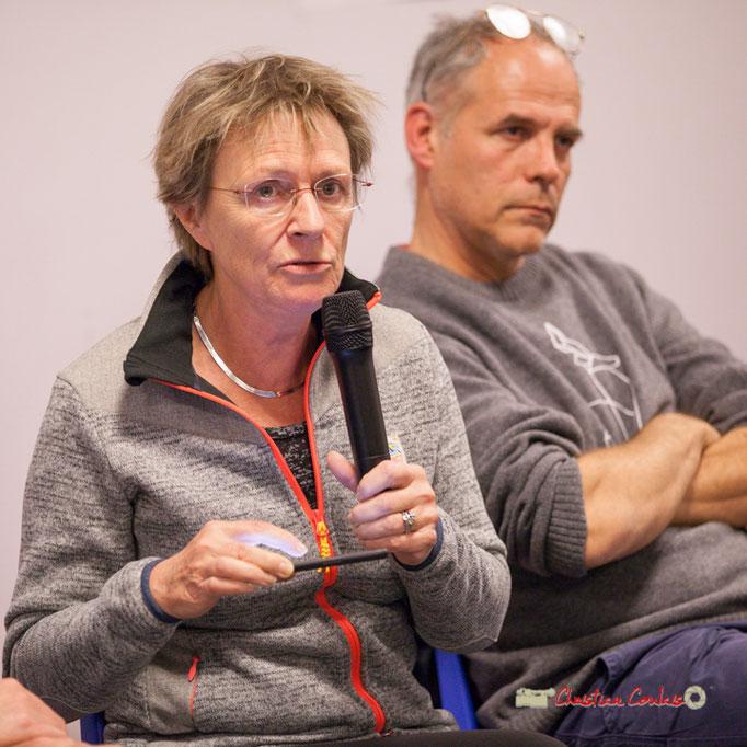 Sylvie Nony nous parle de l'Europe des lobbies, de la santé dégradée. Comité d'appui la France insoumise aux élections européennes, Bordeaux. 22/11/2018