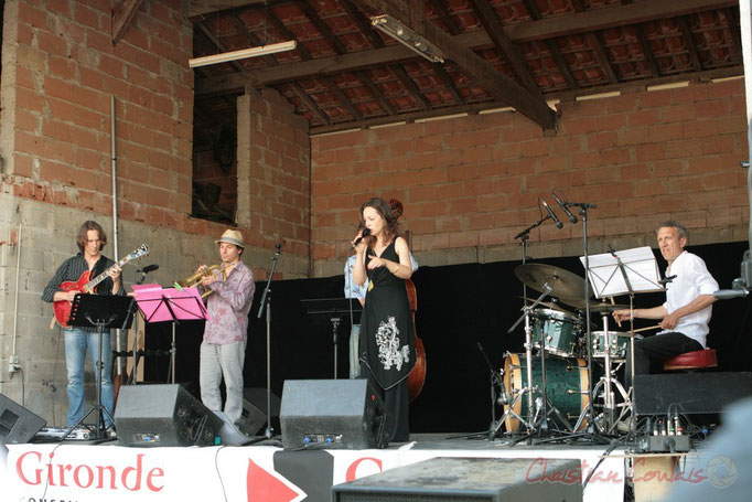 Hans Van Heven, Yann Loustalot, Florinda Piticchio, Iano Anzelmo; Florinda Piticchio & Balarm Quartet, Festival JAZZ360, Cénac. 05/06/2011