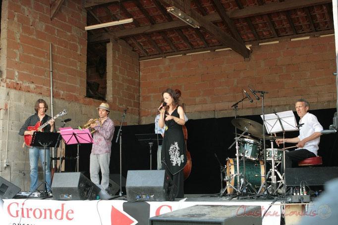 Hans Van Heven, Yann Loustalot, Florinda Piticchio, Iano Anzelmo; Florinda Piticchio & Balarm Quartet, Festival JAZZ360 2011, Cénac. 05/06/2011