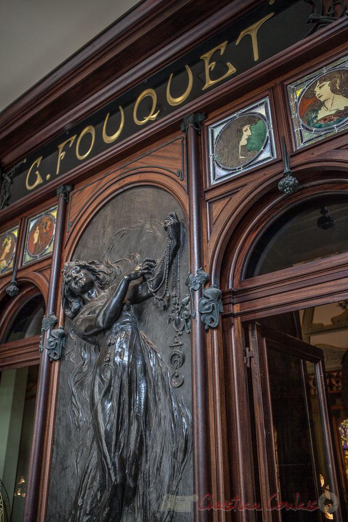 Boutique du bijoutier Georges Fouquet, Bronze Orfèvre Christofle, Musée Carnavalet
