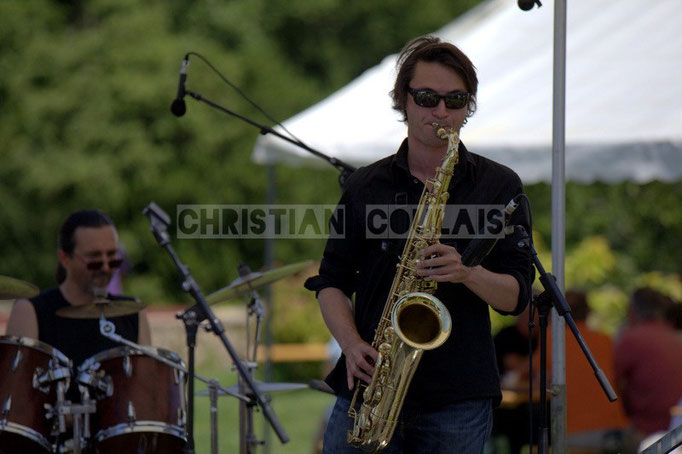 Gaël Lafleuriel; Mil&Zim Jazz, Festival JAZZ360 2014, Quinsac. 08/06/2014