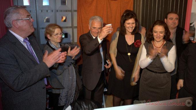 Jean-Marie Darmian et son épouse, Gérard Poisbelaud, Anne-Laure Fabre-Nadler, Mathilde Feld sortent vainqueurs de ces élections départementales