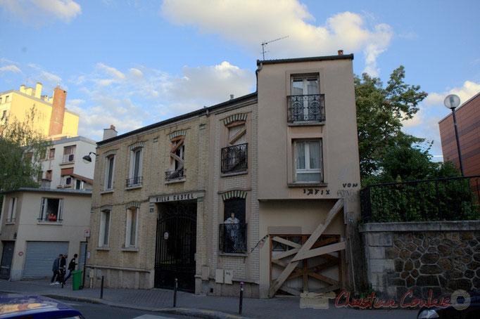 Villa Castel, Paris 20ème