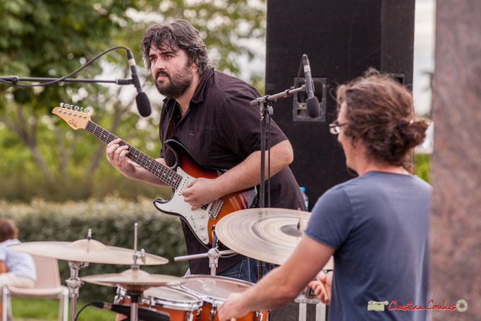 Jean-François Valade, David Muris; Docteur Nietzsche Quartet. Festival JAZZ360 2018, Cénac. 08/06/2018