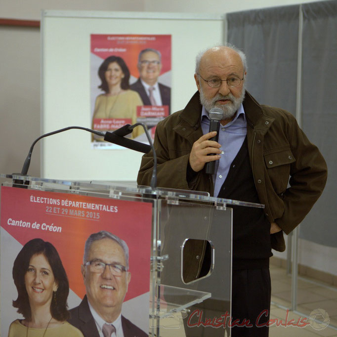 Alain Barrau, premier adjoint au Maire de Sadirac