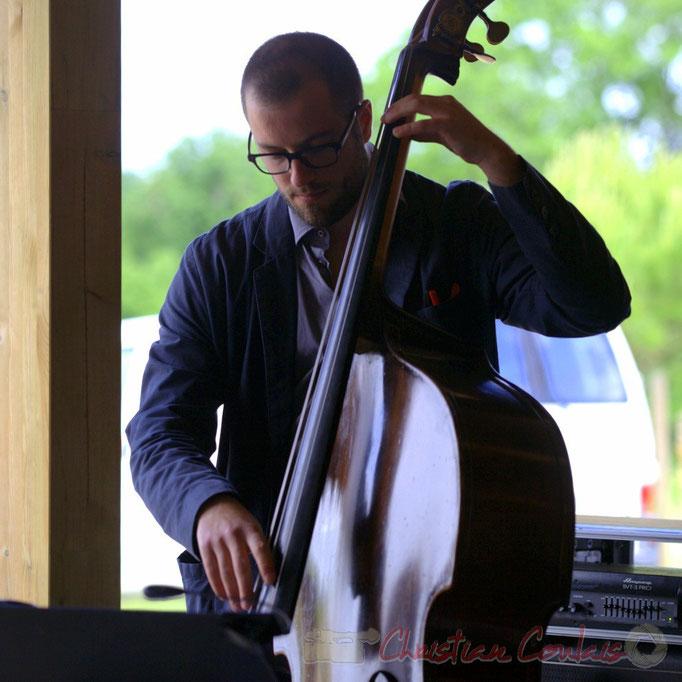 Aurélien Gody, HCL Trio, Festival JAZZ360 2013, Quinsac. 09/06/2013