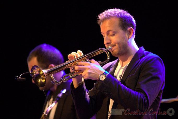 Guillaume Gardey de Soos, les Métropolitains, Festival JAZZ360 2013, Cénac. 08/06/2013